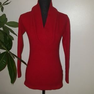 Old Navy 100% Cashmere Red Sweater
